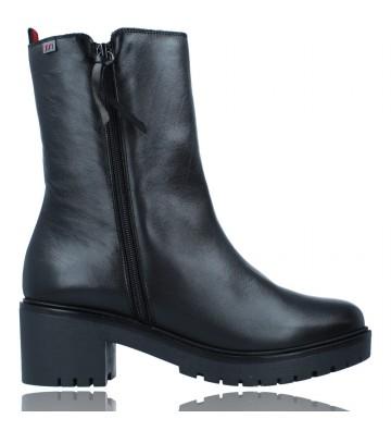 Calzados Vesga Botas Casual de Piel para Mujer de Pepe Menargues 20742 color negro foto 1
