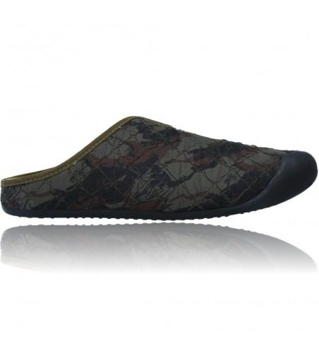 Zapatillas de Casa Pantuflas sin Talón para Hombres de Nordikas Nix Cab Wave 9925
