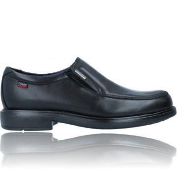 Calzados Vesga Zapatos Mocasines Vestir de Piel Water Adapt para Hombres de Callaghan 90601 Cedron color negro foto 1