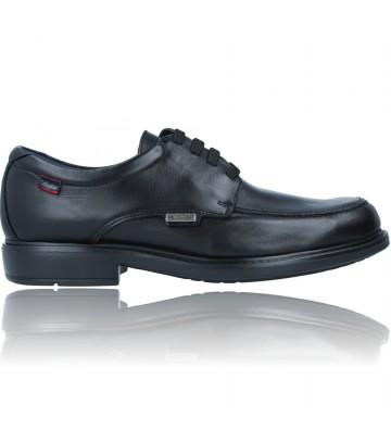Calzados Vesga Zapatos con Cordones de Piel Water Adapt para Hombres de Callaghan 90600 Cedron color negro foto 1