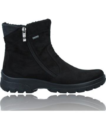 Calzados Vesga Botines Casual con GTX para Mujer de Ara Shoes 12-49305 SAAS FEE ST color negro foto 1