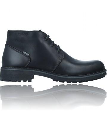 Calzados Vesga Botines Casual de Piel GTX con Cordones para Hombres de Igi&Co 81227 color negro foto 1