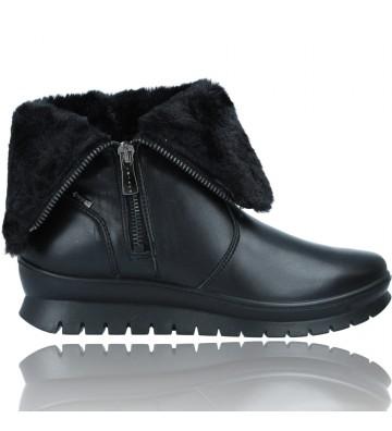 Calzados Vesga Botines Casual de Piel GTX para Mujeres de Igi&Co 81607 color negro foto 1