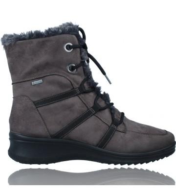 Calzados Vesga Botas Casual con Cordones y GTX para Mujeres de Ara Shoes Munchen 12-48554 color gris foto 1