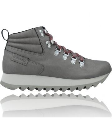 Calzados Vesga Botines Retro con Cordones para Mujer de Merrell Alpine Hiker J003594 y J003774 color gris foto 1