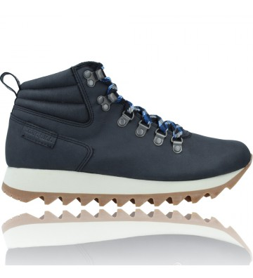 Calzados Vesga Botines Retro con Cordones para Mujer de Merrell Alpine Hiker J003594 y J003774 color negro foto 1