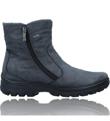 Calzados Vesga Botines Casual con GTX para Mujer de Ara Shoes 12-49305 SAAS FEE ST color gris foto 1
