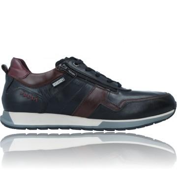 Calzados Vesga Zapatos Deportivos de Piel para Hombre de Pikolinos Cambil M5N-6010C1 color negro foto 1