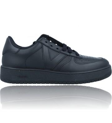 Calzados Vesga Zapatillas Deportivas Sneakers Veganas para Mujeres de Victoria 129100 color negro foto 1