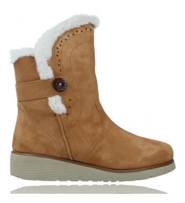 Calzados Vesga Botas Casual de Piel con Cuña para Mujeres de Skechers 49811 Keepsakes Wedge color cuero foto 1