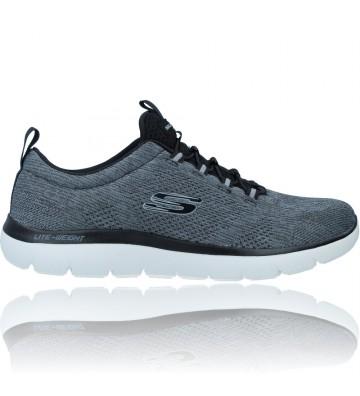 Calzados Vesga Zapatillas Deportivas Casual para Hombres de Skechers 232186 Summits color gris foto 1