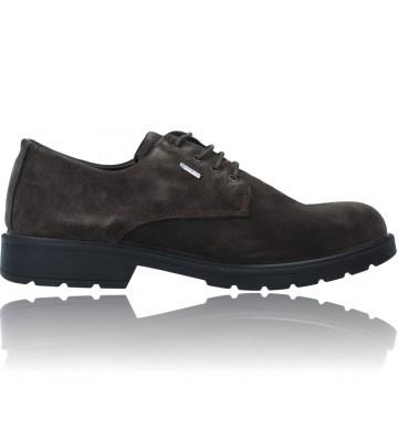 Calzado Vesga Zapatos Casual de Piel GTX con Cordones para Hombre de Igi&Co 81021 color marrón foto 1