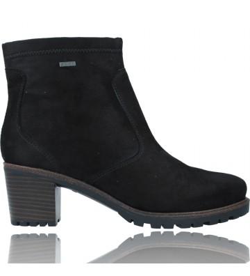 Calzados Vesga Botines Casual Gore-Tex con Tacón para Mujeres de Ara Shoes 12-47302 Mantova color Negro foto 1