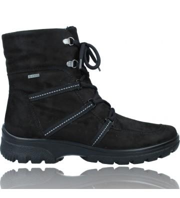 Calzados Vesga Botines Casual con Cordones y Gore-Tex GTX para Mujeres de Ara Shoes SAAS 12-49311 color negro foto 1