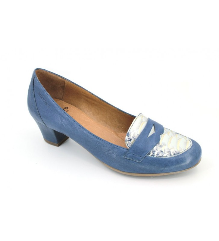 Wonders e-4026 women casual shoes navy