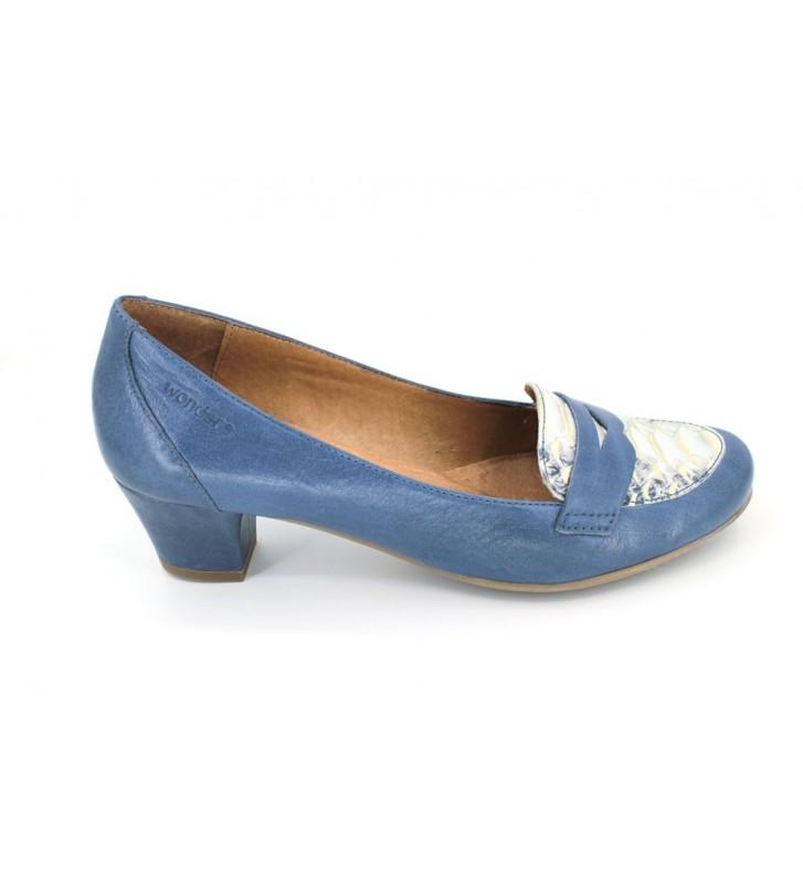 Wonders e-4026 women casual shoes navy