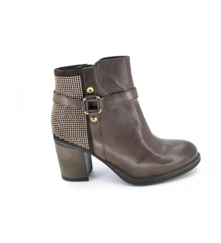 Cressy 50300 urban booties women brown