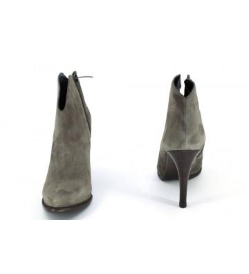 Pepe Castell 20500 Botines Tobilleros Vestir Mujeres Taupe