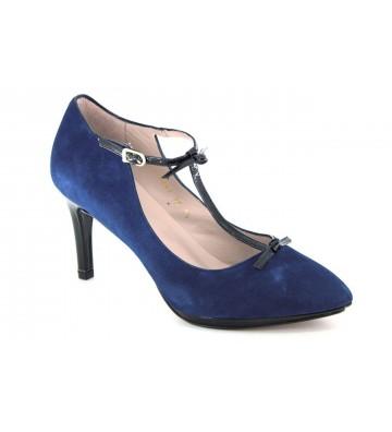 Lodi 18498 Zapatos Angelito de Vestir con Tira T para Mujeres