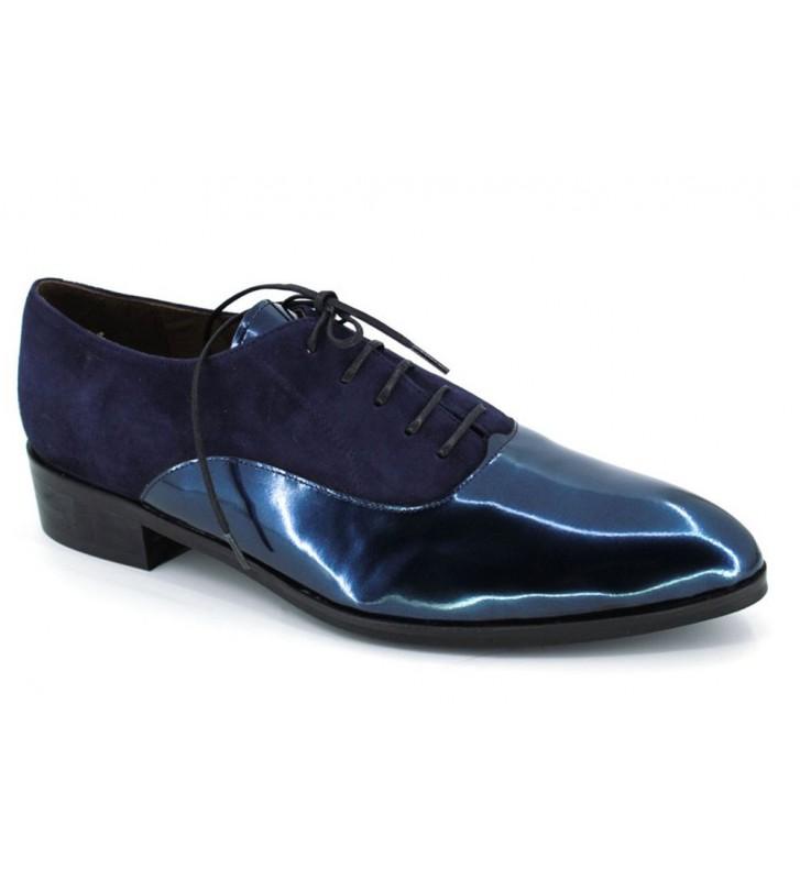 Pedro Miralles 4202 Zapatos Cordones Blucher Mujeres Azul