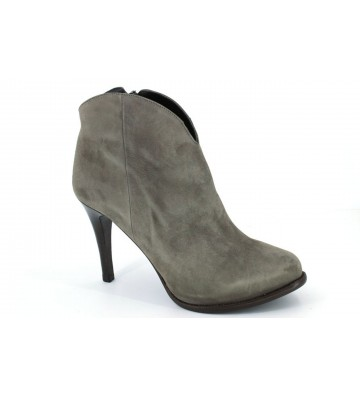 Pepe Castell 20500 Dress Ankle Boots Women Taupe