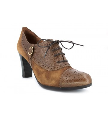Hispanitas Atlanta Bhi-40771 Zapatos Cordones de Mujer