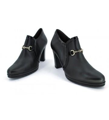 Dansi 2875 Zapatos Adorno Guchi Mujer Negro