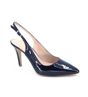 Lodi Polca-p Zapatos Vestir Destalonados Mujer Oro