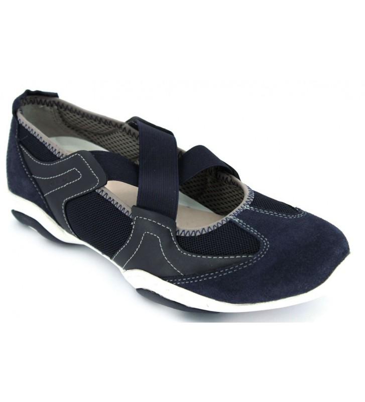 Geox Arrow D5220A Zapatos Merceditas Mujer Azul
