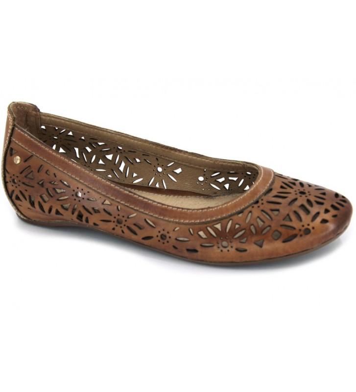Pikolinos Pisa W3A-5533 Zapatos Bailarinas Mujer Cuero
