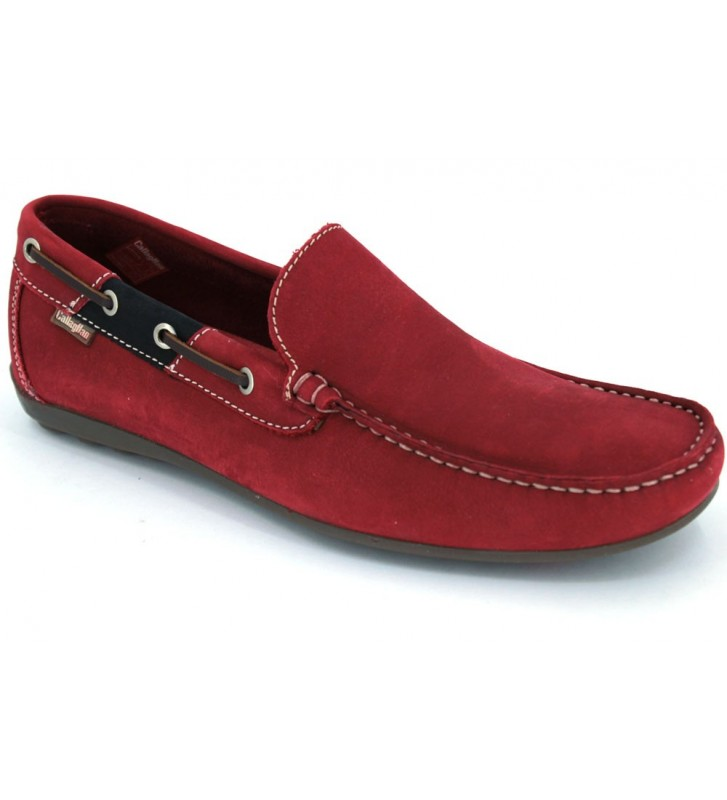 Callaghan Adaptaction 74200 Sterling Mocasines Rojo