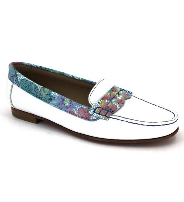Amberone 3437 Zapatos White