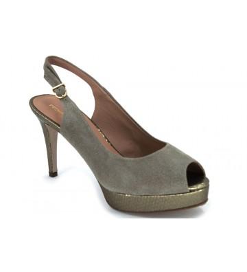 Pedro Miralles 2580 Peep Toe Zapatos Vestir Destalonados Mujer Rosa