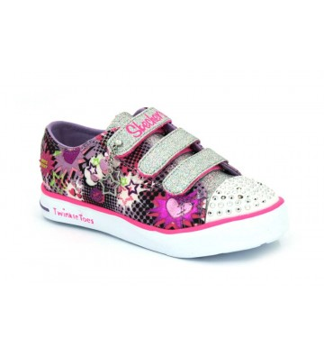 Skechers Lights Twinkle Breeze 10608L