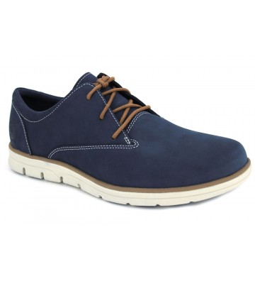 Timberland Bradstreet Oxford A1K5D Men's Shoes - NOBUCK AZUL
