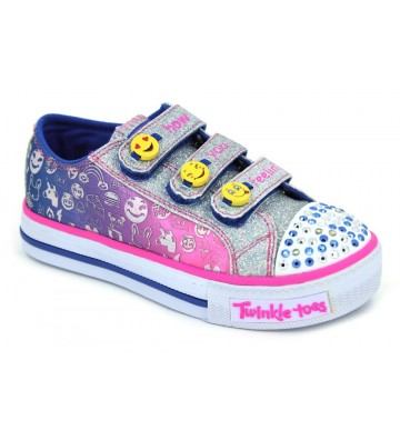 Skechers S Lights Shuffles Expressionista 10704L