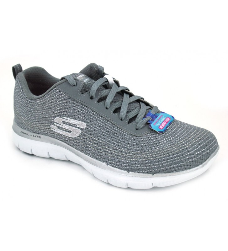 Skechers Flex Appeal 2.0 Metal Madness 12764