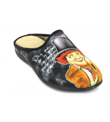 Calzados Vesga 529 Zapatillas de Casa de Hombre