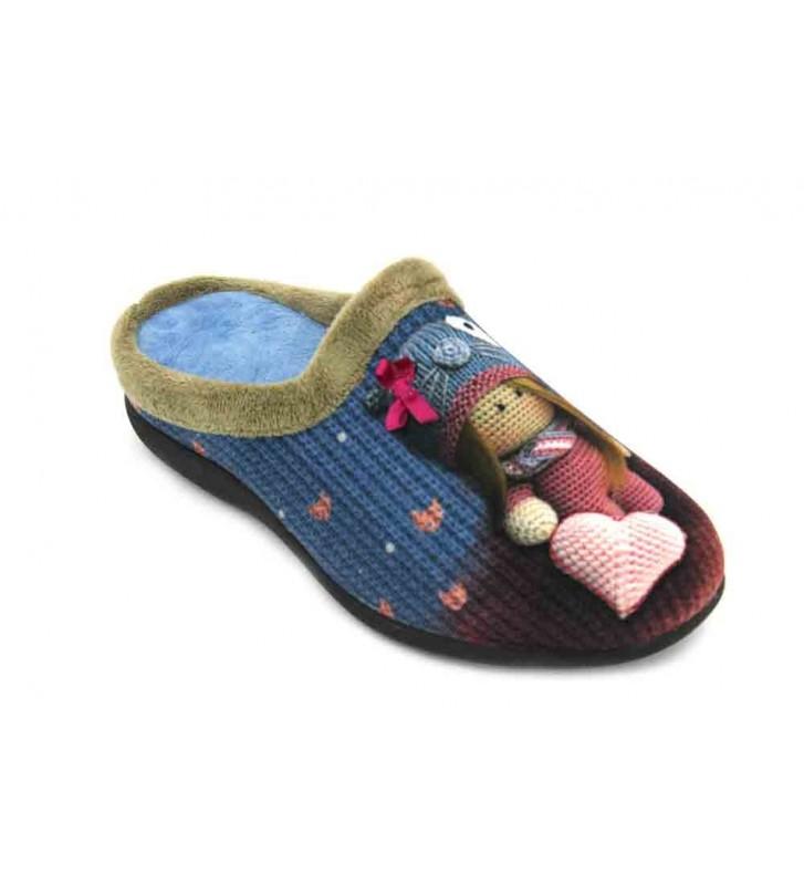 Calzados Vesga 5519 Zapatillas de Casa de Mujer