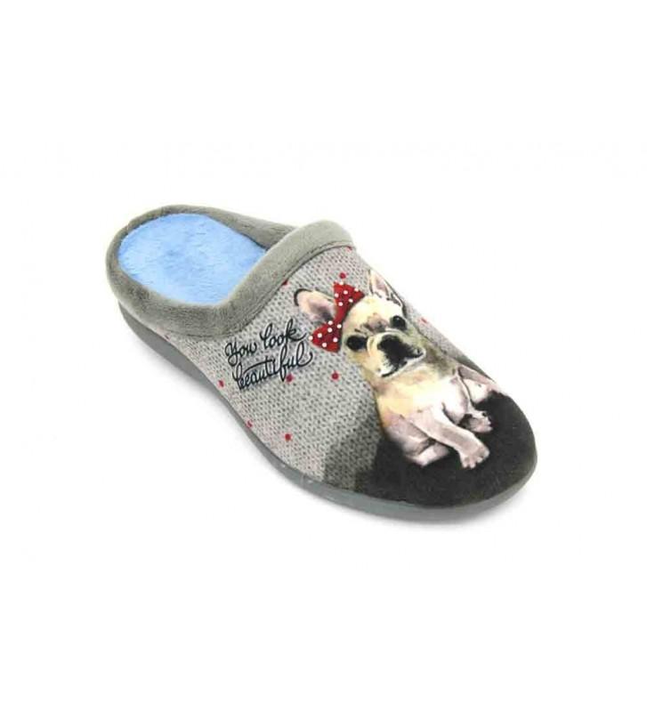 Calzados Vesga 5596 Zapatillas de Casa de Mujer