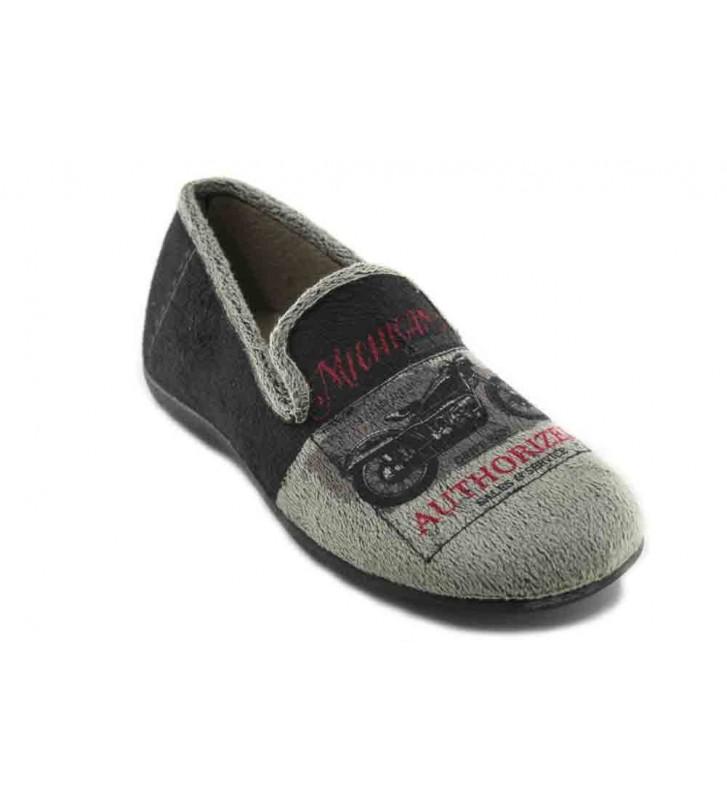 Calzados Vesga 503 Zapatillas de Casa de Hombre
