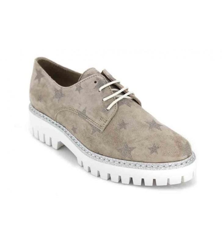 ALPE 3620 Zapatos Casual Para Mujer - 40, Serraje Arena