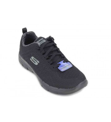 SkechersBurns-Agoura - Step Hombre, Color Negro, Talla 41 EU
