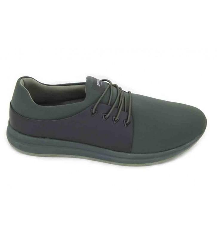 Muroexe Army Green Zapatos de Hombre