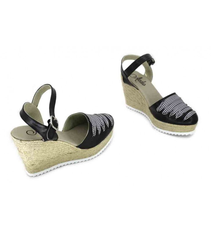 Aedo 601 Sandalias Espadrilles de Mujer