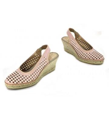 Aedo 1509 Sandalias Espadrilles de Mujer