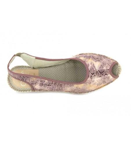 Aedo 393 Sandalias Espadrilles de Mujer