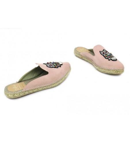 Aedo 662 Zapatos Mules Espadrilles de Mujer