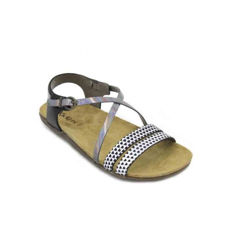 Kickers Atomium 628000-55 Sandalias de Mujer