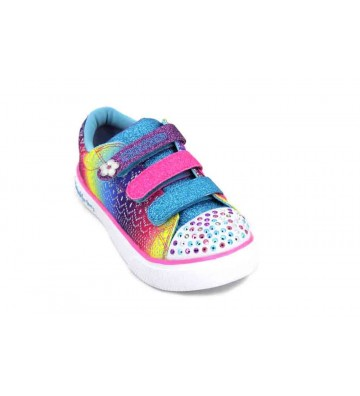Skechers Sunshine Crochets 10927L Girl's Sneakers